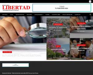 Hosting Semanario Libertad