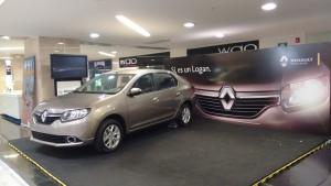 Backing Renault Logan