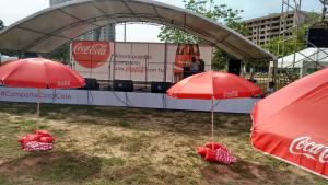 Vallas Coca Cola