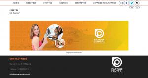 Diseño sitio web.